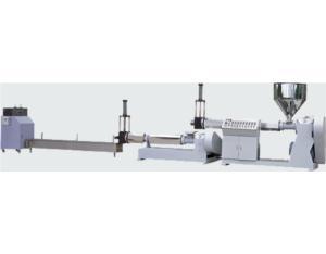Making granular twin-segment extruder