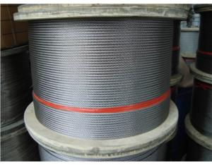 Stainless Steel Wire Rope 7x19 (AISI304, 316)