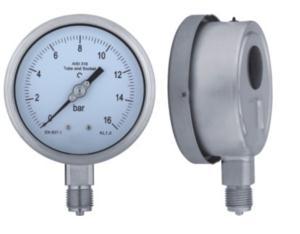 Stainless Steel Pressure Gauge (B-0013)