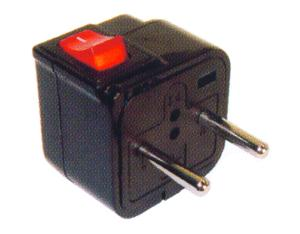 South America Plug Adapter (Ungrounded)