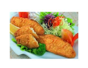 Breaded / Crumbed Fish Steak, Frozen Seafood