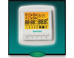 Room Thermostat / Weekly Programmable Room, HVAC Room Thermostat, LCD Thermostat, LCD Room