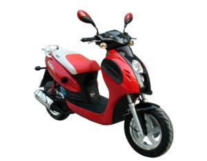 2-Stoke/4-Stroke 50cc Gasoline Scooter (BD125T-2A-I)