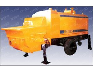 S-tube Diesel trailing concrete pump