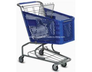 Plastic Shopping Cart (YLD-PT100)