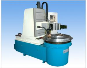 CNC Engraving Machine for Curving on the Side Plate of Segmented Mould