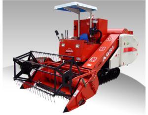 Self-Propelled Full-Feeding Combine Harvester (4LZ-2.0)