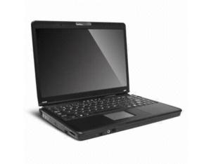 Laptop with 13.3 inch TFT LCD WXGA Display and 120GB Hard Disk