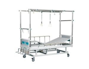 Medical Apparatus(S. S Plastic Injected Mixed Orthopaedic Traction Bed)