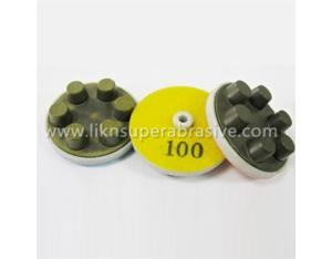 6DOT Grinding Pads With Qrs for Dry Polishing Concrete (DSC603)