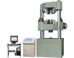 Servo Hydraulic Universal Testing Machine (WAW-1000C)