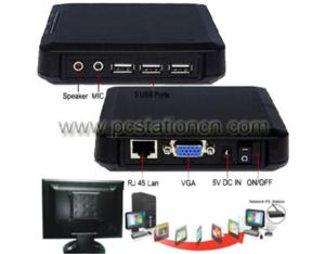 Network PC Station, Thin Client PC, PC Terminal