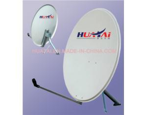 Ku Band 93cm Dish Antenna With Galvanized Steel Accessories