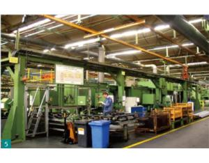 Transfer of production line of MAN Company in Germany