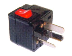 China (and old Australia) Plug Adapter (Grounded)