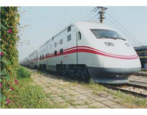 """BEIJING SHENZHOU"" DOUBLE DECK POWERED TRAINSET"
