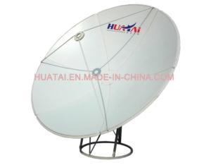 C Band 120cm Dish Antenna Ground Mount
