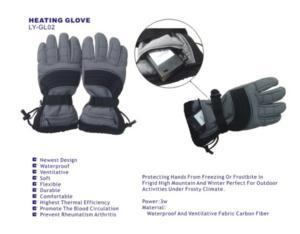 Name: Heating glove     Mode NO. :LY-GL02