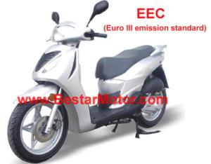 EEC Gas Scooter (125T-12/150T-6)