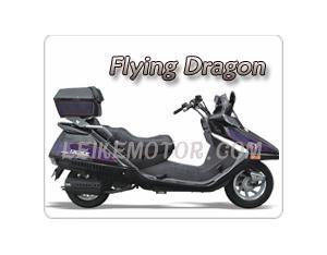 EPA, DOT, 150cc Motor Scooter (Flying Dragon)