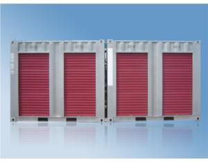 Shutter door container