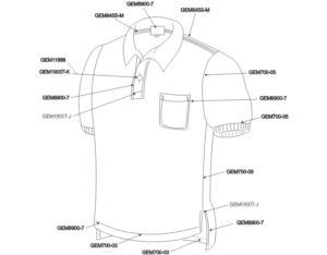 Neck shirt