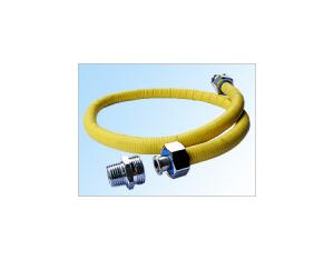 SS Flexible Gas Connector with PVC Cover