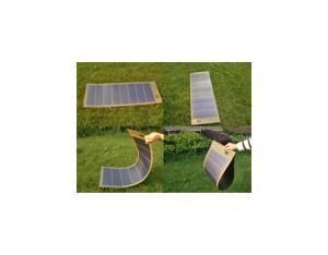 24W/12V Thin Film Amorphous Flexible Solar Panel (CNTP-AFS-24-12V)