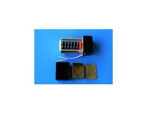 7-Digit Triple Screenings Electric Ammeter Indexer with Aluminum Bracket