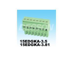 Pluggable Terminal Block (15EDGKA)