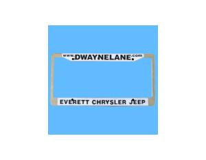 Charactered License Plate Frame (BD-016)