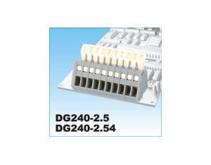 PCB Spring Terminal Block (DG240-2.5~2.54)
