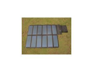 36W/18V Amorphous Thin Film Foldable Solar Panel in Black