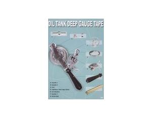 Oil Tank Deep Gauge Tape