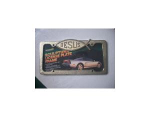 Brass License Plate Frame (MLF-041)
