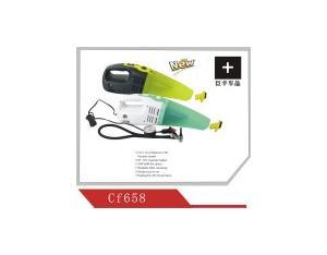 2 in 1 Car Vacuum Cleaner & Air Compressor/Air Pump (CF658)