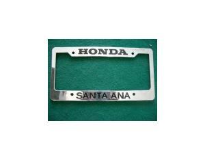 Engraving License Plate Frame