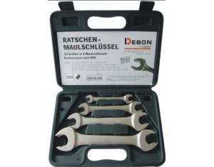 Double Open End Ratchet Wrench Set (DB1200)