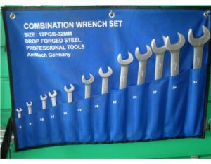 DB6221 Combination Wrench / Spanner Set (Canvas Bag)