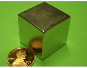 NdFeB Magnet 1 Inch Cube