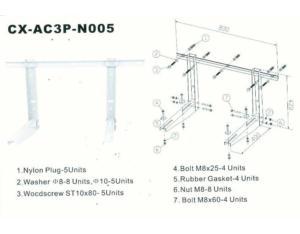 Air Conditioner Brackets N007
