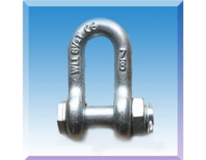 D Shackle with Nut