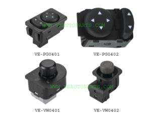 Auto Mirror Switch (for Peugeot and Vw)