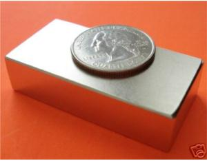 NdFeB Magnet2x1x0.5inch Block