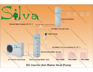 Hot Water Heat Pump (Water&Floor Heater)