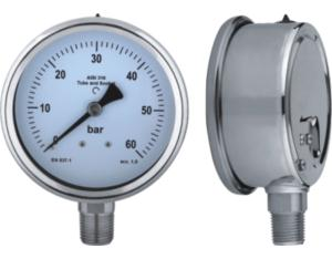 All Stainless Steel Pressure Gauge (MY-SSR-2L100)