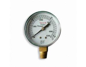 Safety Oxygen Gauge (MT-O-002)