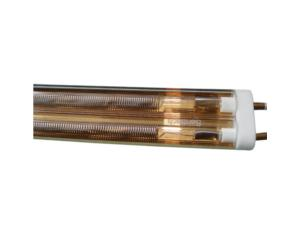 Senttech IR Middle-Wave Twin-Tube Heaters - Gold Plated (MWG-035)