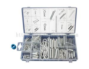 175pc Spring & Hitch Pin Assortment