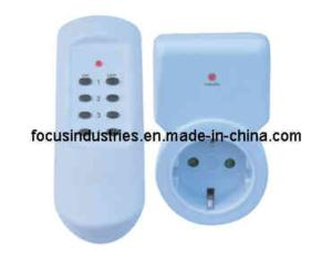 GS/CE Approved Germany Type Remote Control Socket